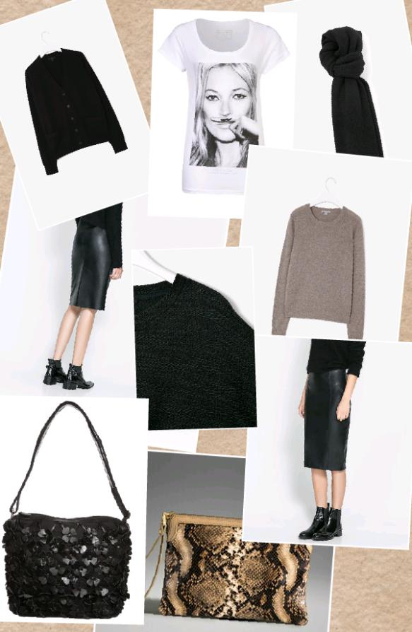tmp_Collage black leather skirt Zara1814065187