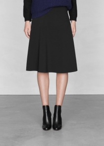 &OtherStories_A-line midi skirt