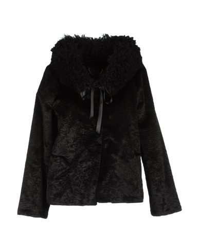 _Black faux fur jacket