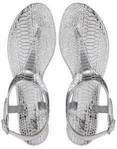 Asos Park Lane Toepost Jelly Flat Sandals
