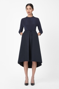 COS TECHNICAL PLEATED SKIRT