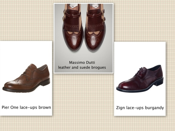 Dutti, Pier One, Zign lace-ups autumn 2014