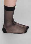&Other Stories nylon socks black