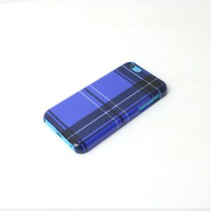Blue Tartan Phone Case by PATTERNPANDA