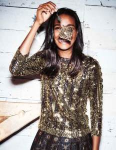 Boden SEQUIN CABLE JUMPER