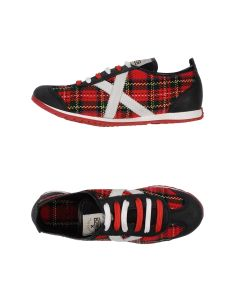 Munich tartan low-tops