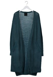 JUST FEMAL Cardigan - petrol