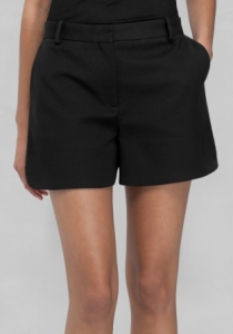 & Other Stories VISCOSE SHORTS black