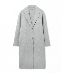 COS Clean edge wool coat