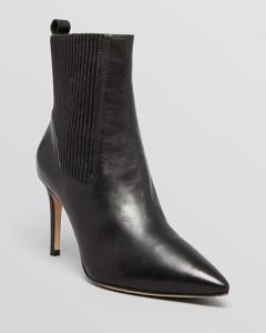 Via Spiga Pointed Toe Booties - Corene High Heel