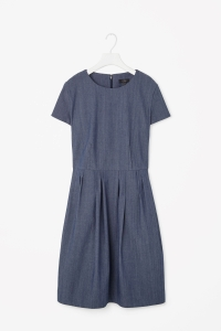 COS DRESS WITH PLEATED WAIST