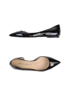 Pierre Darrè patent ballerinas black (Yoox Euros 100)