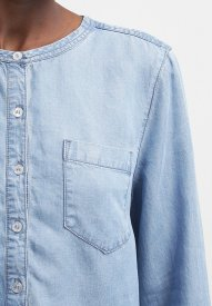 Selected Femme SFWILMA - Blouse - medium blue denim