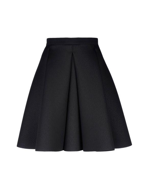 8 Knee length skirt black