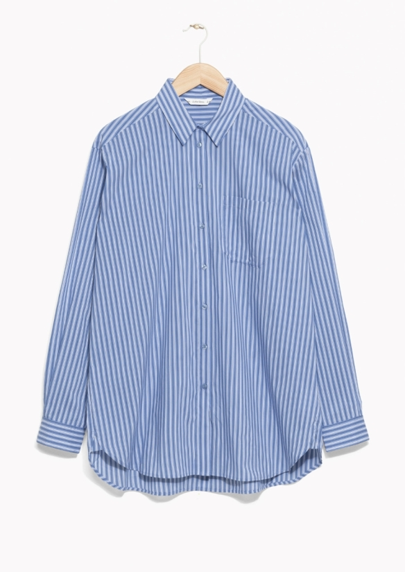 &Other Stories OVERSIZED SHIRT blue
