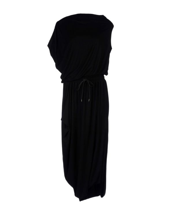 VIVIENNE WESTWOOD ANGLOMANIA Long dress (asymmetric sleeves black)