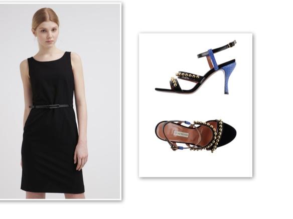 black shift dress (daring)