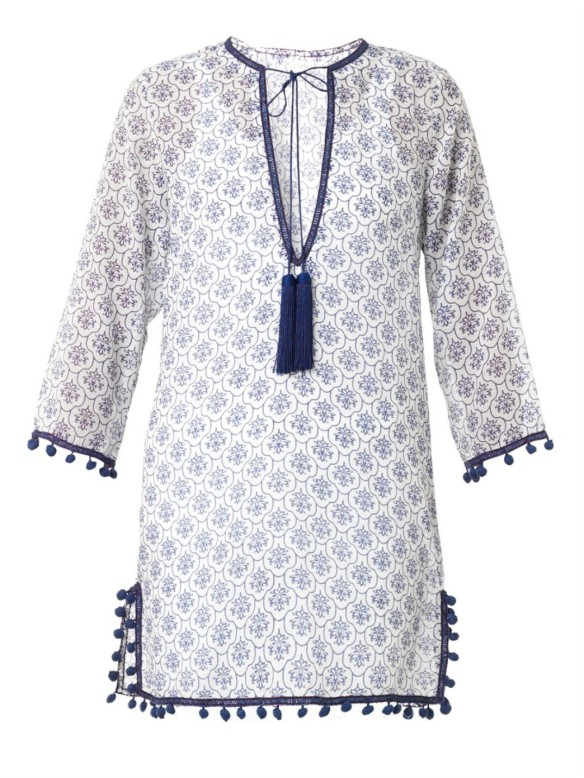 TALITHA Kanisha-print cotton silk-blend kaftan