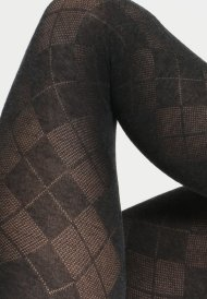 Burlington LADYWELL DIAMOND - Tights - black