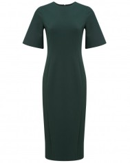 ATTERLEY Green Claudia Midi Dress green