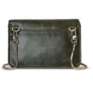 Filippa K TYRA PURSE GREEN GLITTER