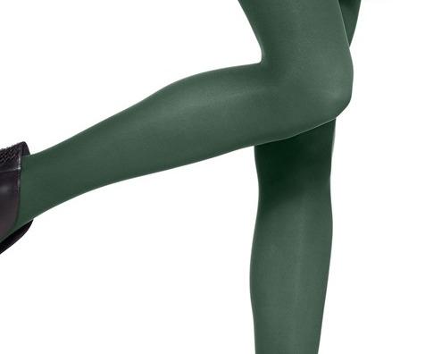 77751a18d HUE OPAQUE TIGHTS green