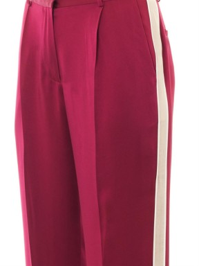JONATHAN SAUNDERS Lucia fluid satin trousers (detail)