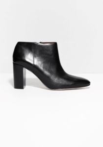 &Other Stories Leather Ankle Boots