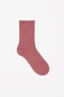 COS METALLIC SOCKS pink
