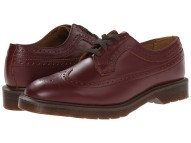 Dr. Martens 3989 Brogue Shoe in burgundy