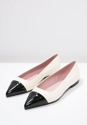 Pretty Ballerinas Ballet pumps - negro/marfil