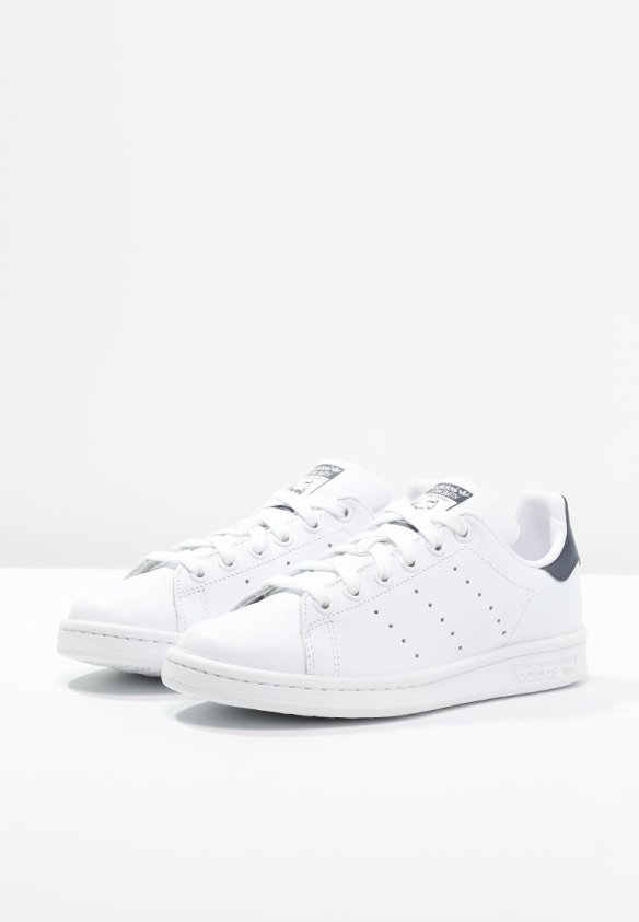 adidas Originals STAN SMITH - Trainers - run white/new navy