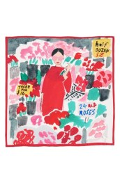 Kate Spade new york 'bella' silk square scarf