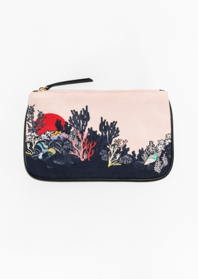 & Other Stories Ocean Floor Purse