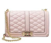 Rebecca Minkoff LOVE - Across body bag - baby pink/light gold