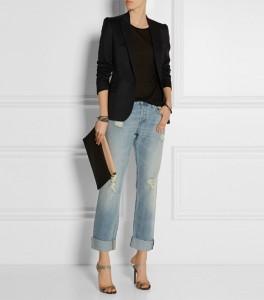 Boyfriend jeans made elegant