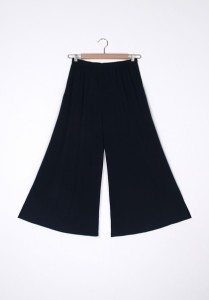 Hidden Forest Wide Pants navy