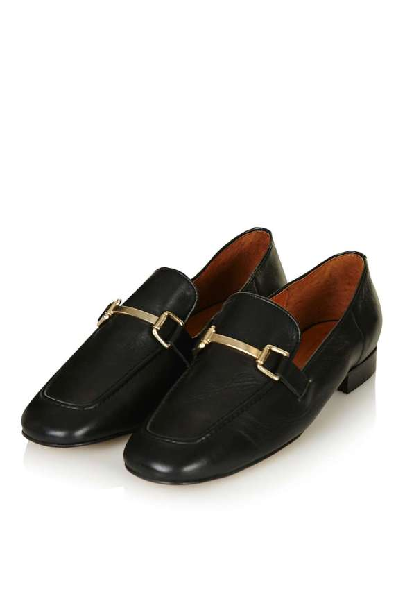 TOPSHOP KARTER Loafer in black