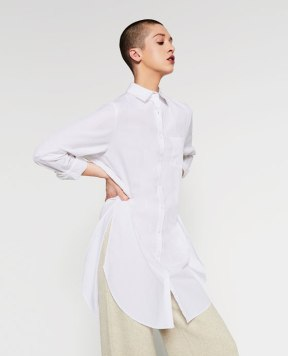 Zara OVERSIZED SHIRT DRESS