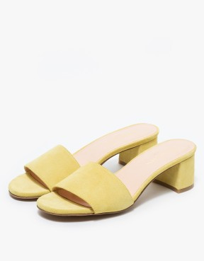 Need Supply Co. CLASSIC MULE IN YELLOW Marais USA