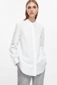 COS-slim-fit-cotton-shirt-white