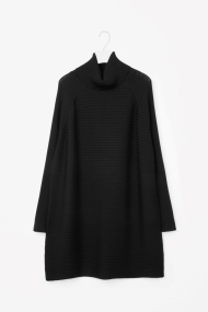 cos-merino-roll-neck-dress-black