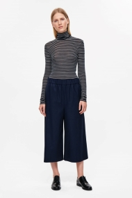cos-striped-high-neck-top-navy
