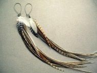 Etsy-feather-earrings