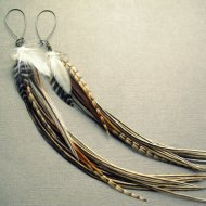 Etsy-feather-earrings