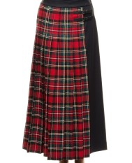 i-m-isola-marras-long-tartan-skirt-1g9404