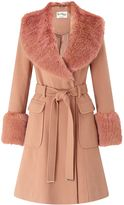 miss-selfridge-faux-fur-cuff-and-collar-coat