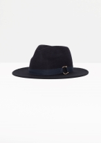 & other-stories-buckle-detail-wool-hat-in-dark-navy