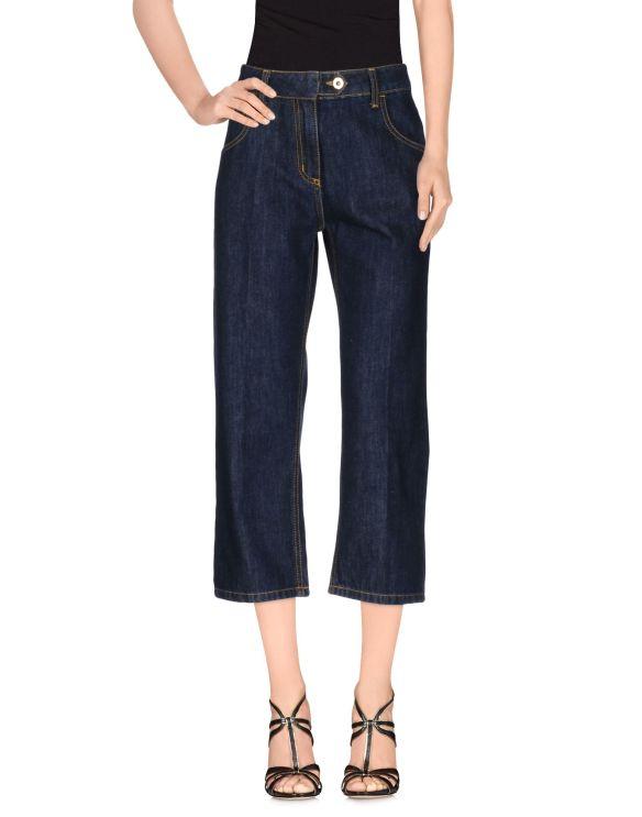 blumarine denim-trousers