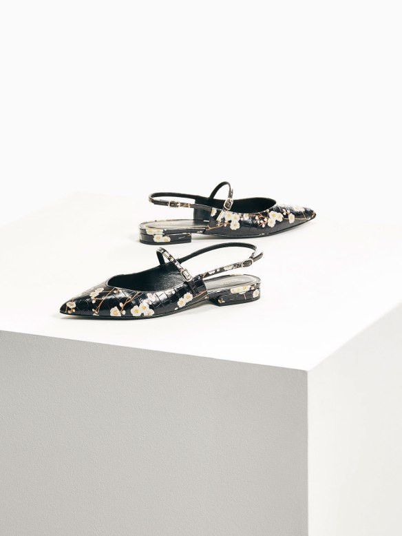 massimo-dutti-limited-edition-floral-print-leather-ballerina-flats